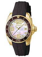 diamond invicta quartz watch 0498