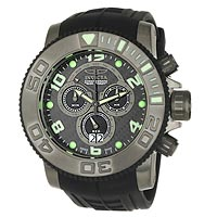 Invicta Men's 0413 Pro Diver Sea Hunter Chronograph Watch  for Sale